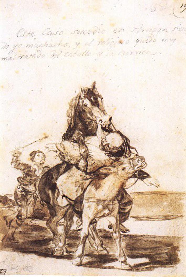 Goya lo presenció.